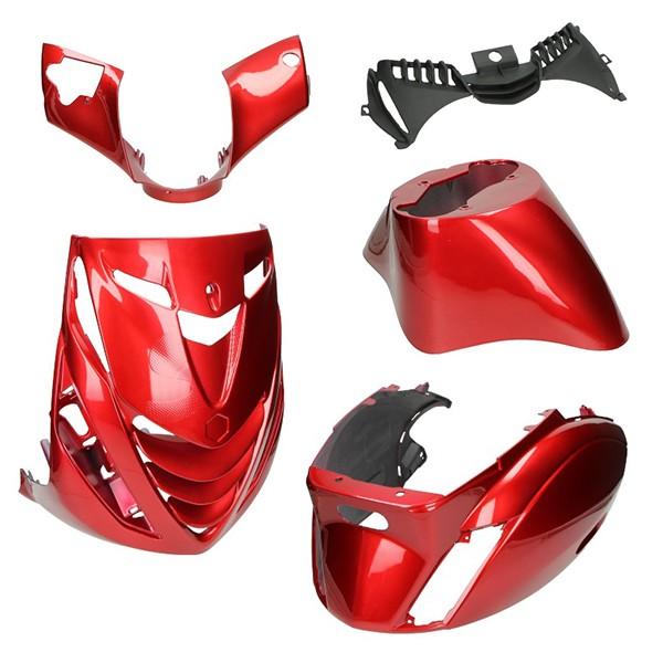 plaatwerkset model SP (audi bordeaux red) zip2000 rood DMP 5-delig