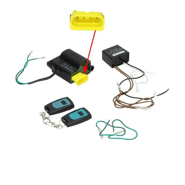 CDI toerenbegrenzer met afstandsbediening cdi 45km piaggio zip en Piaggio fly , vespa lx en LXV , Vespa S50 , Vespa Primavera / Vespa Spint