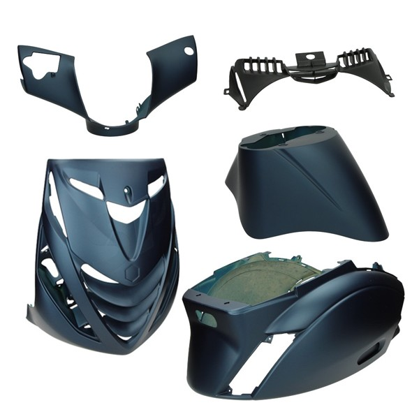 plaatwerkset model SP zip2000 blauw donker mat DMP 5-delig
