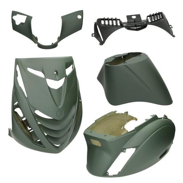 plaatwerkset model SP zip2000 groen leger mat DMP 5-delig