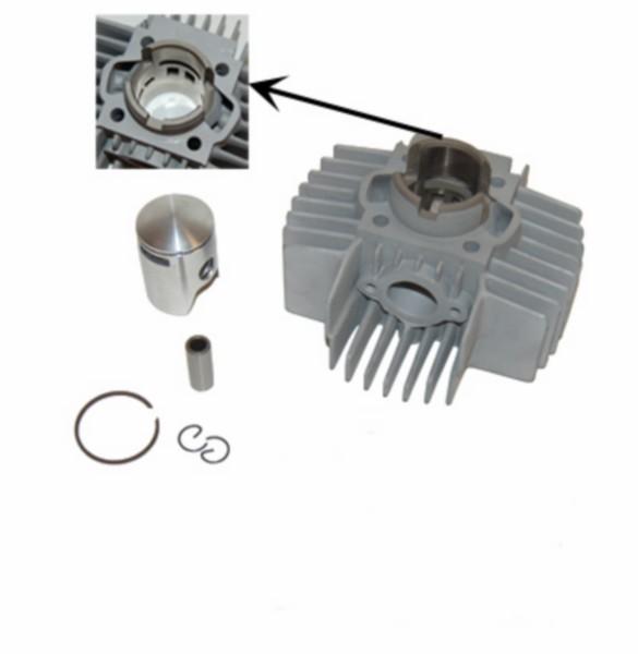 cilinder 6-poort maxi/puch 38mm DMP