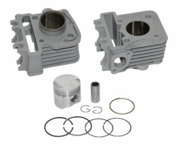 cilinder + zuiger alu-nik 50cc sco piaggio 4t-2v 39mm DMP