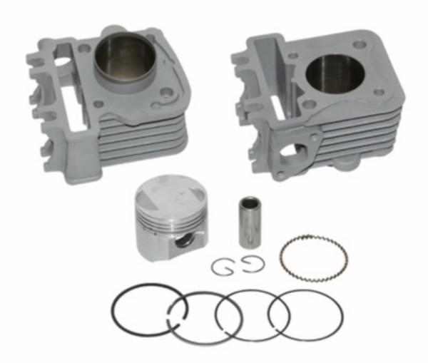 cilinder + zuiger alu-nik 60cc sco piaggio 4t-2v 42mm DMP