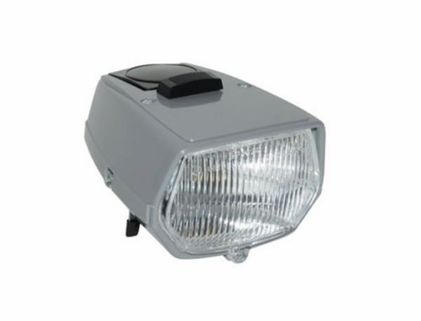koplamp vierkant + schakelaar maxi grijs DMP