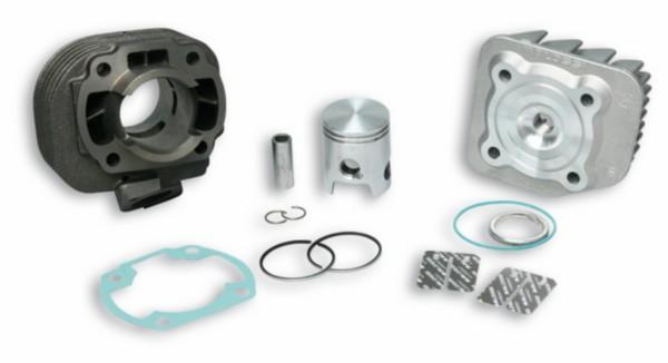 cilinder met cilinderkop Malaguti f12r ac / CPI hussar / keeway / CPI Oliver / CPI popcorn 40mm malossi 3113865