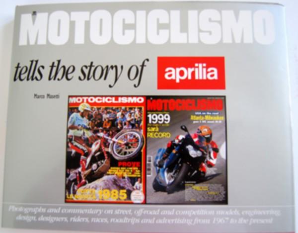 accessoire boek historie aprilia