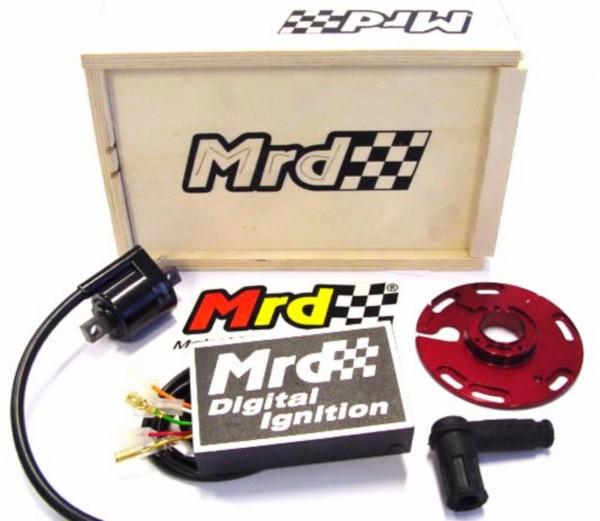 cdi unit kastje ontsteking digitaal met bobine en grondplaat minarelli am6  , RYZ,RX , enz schakelbrommers