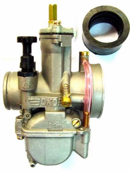 carburateur vlakschuif mod. keihin univ 24mm DMP oko