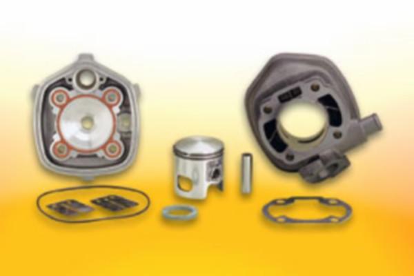 47mm Malossi Cilinder met cilinderkop voor Aprilia SR , SR2000 en DiTech ook geschikt voor Suzuki Katana