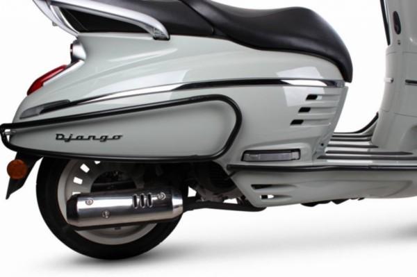 achter sierbeugels Peugeot Django zwart