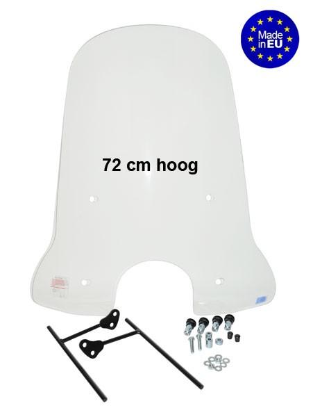 hoog windscherm agm swan/ riva2 / tres btc / rp-50